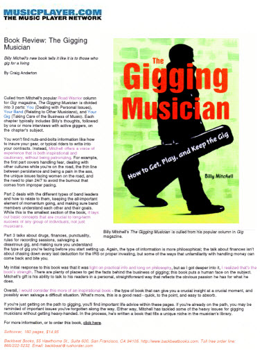 how to get college music gigs